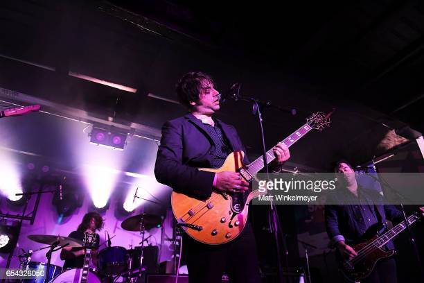 Singer Jeff Klein of My Jerusalem performs during the Spoon SXSW Residency 2017 SXSW Conference and Festivals on March 16 2017 in Austin Texas