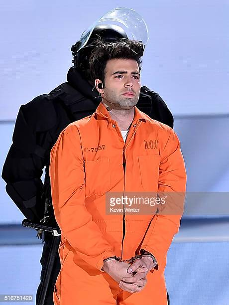 Singer Jencarlos Canela appears in 'The Passion' an epic musical event airing LIVE from New Orleans on FOX at Woldenberg Park on March 20 2016 in New...