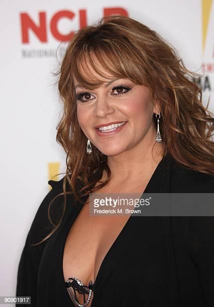 Singer Jenni Rivera arrives at the 2009 ALMA Awards held at Royce Hall on September 17 2009 in Los Angeles California