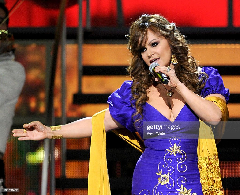 Singer <a gi-track='captionPersonalityLinkClicked' href=/galleries/search?phrase=Jenni+Rivera&family=editorial&specificpeople=666166 ng-click='$event.stopPropagation()'>Jenni Rivera</a> performs onstage during the 11th annual Latin GRAMMY Awards at the Mandalay Bay Events Center on November 11, 2010 in Las Vegas, Nevada.