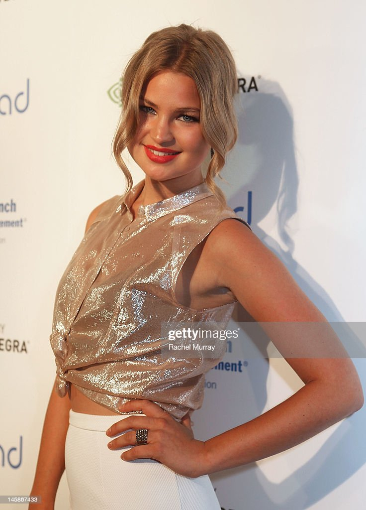 Singer Jennifer Akerman arrives at the VIP red carpet cocktail party hosted by WIKIPAD and NVIDIA as part of the celebrations for E3,2012 held at Elevate Lounge on June 6, 2012 in Los Angeles, California.