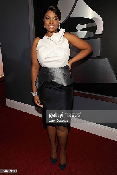 Singer Jennifer Hudson arrives at the 51st Annual Grammy Awards held at the Staples Center on February 8 2009 in Los Angeles California