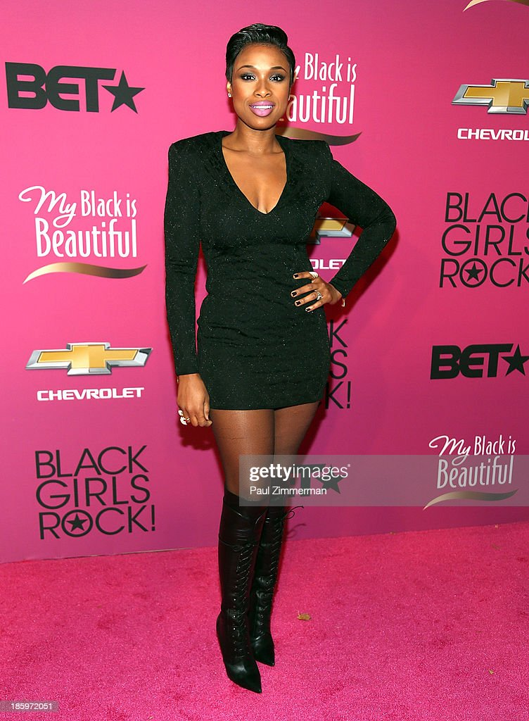 Singer <a gi-track='captionPersonalityLinkClicked' href=/galleries/search?phrase=Jennifer+Hudson&family=editorial&specificpeople=234833 ng-click='$event.stopPropagation()'>Jennifer Hudson</a> attends Black Girls Rock! 2013 at New Jersey Performing Arts Center on October 26, 2013 in Newark, New Jersey.