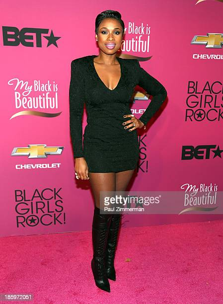 Singer Jennifer Hudson attends Black Girls Rock 2013 at New Jersey Performing Arts Center on October 26 2013 in Newark New Jersey