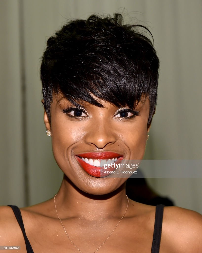 Singer <a gi-track='captionPersonalityLinkClicked' href=/galleries/search?phrase=Jennifer+Hudson&family=editorial&specificpeople=234833 ng-click='$event.stopPropagation()'>Jennifer Hudson</a> attends day 1 of the Radio Broadcast Center during the BET Awards '14 on June 27, 2014 in Los Angeles, California.