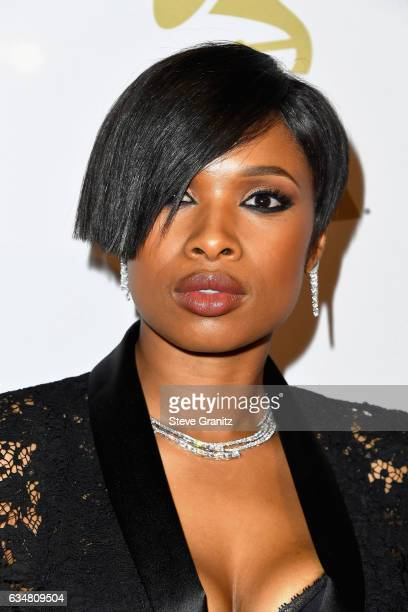 Singer Jennifer Hudson attends PreGRAMMY Gala and Salute to Industry Icons Honoring Debra Lee at The Beverly Hilton on February 11 2017 in Los...