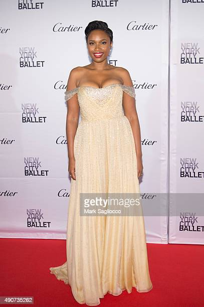Singer Jennifer Hudson attends the 2015 New York City Ballet Fall Gala at the David H Koch Theater at Lincoln Center on September 30 2015 in New York...