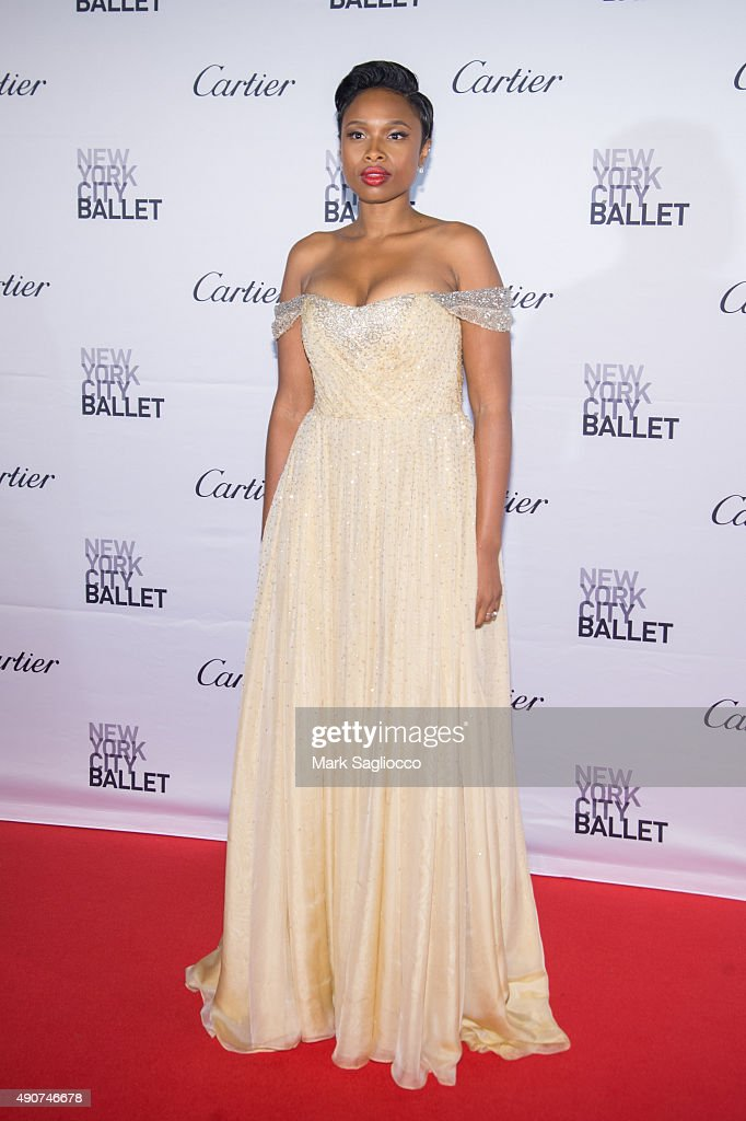 Singer Jennifer Hudson attends the 2015 New York City Ballet Fall Gala at the David H. Koch Theater at Lincoln Center on September 30, 2015 in New York City.
