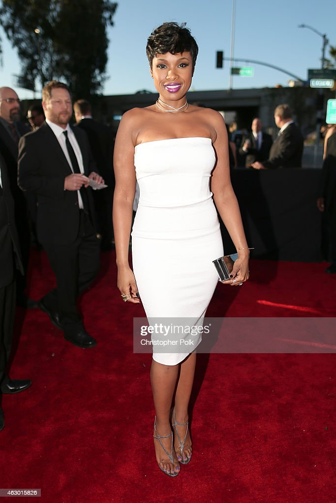 Singer <a gi-track='captionPersonalityLinkClicked' href=/galleries/search?phrase=Jennifer+Hudson&family=editorial&specificpeople=234833 ng-click='$event.stopPropagation()'>Jennifer Hudson</a> attends The 57th Annual GRAMMY Awards at the STAPLES Center on February 8, 2015 in Los Angeles, California.