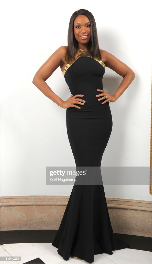 Singer <a gi-track='captionPersonalityLinkClicked' href=/galleries/search?phrase=Jennifer+Hudson&family=editorial&specificpeople=234833 ng-click='$event.stopPropagation()'>Jennifer Hudson</a> poses for photographs during the Michael Kors Celebration of American Fashion at the US Ambassadors Residence on November 5, 2011 in Tokyo, Japan.