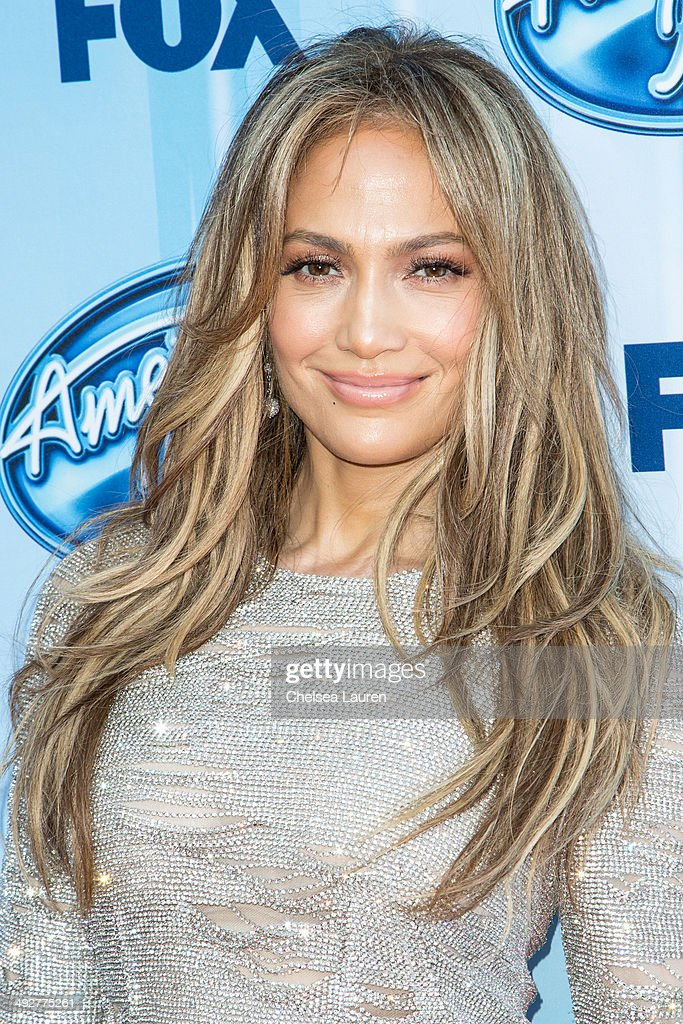 Singer <a gi-track='captionPersonalityLinkClicked' href=/galleries/search?phrase=Jennifer+Lopez&family=editorial&specificpeople=201784 ng-click='$event.stopPropagation()'>Jennifer Lopez</a> arrives at the American Idol XIII grand finale at Nokia Theatre L.A. Live on May 21, 2014 in Los Angeles, California.