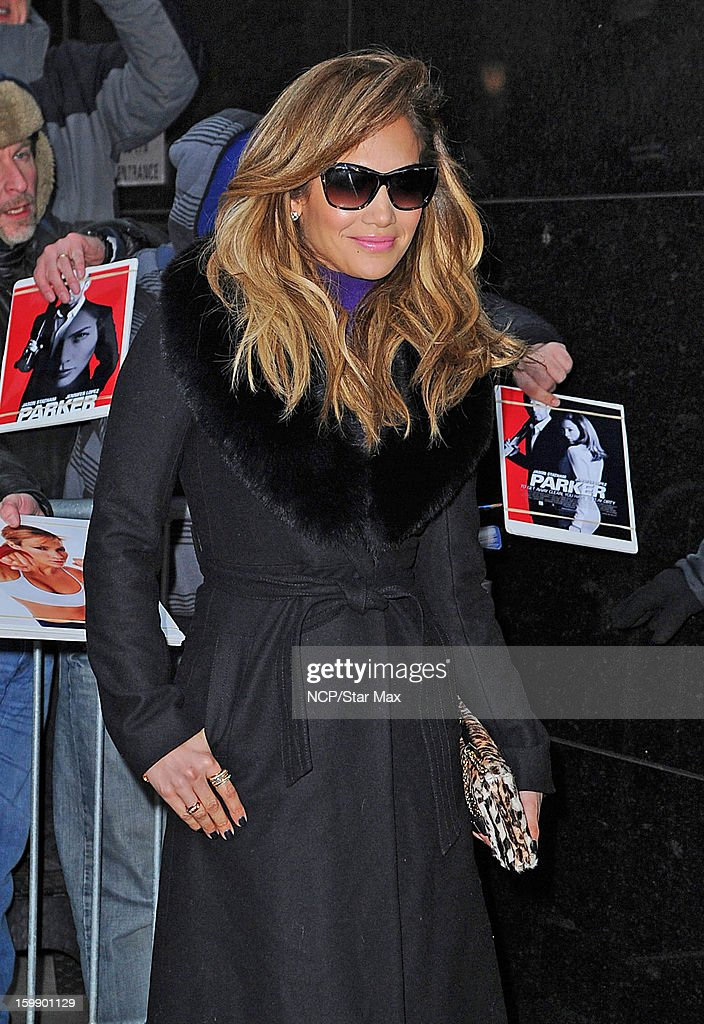 Singer <a gi-track='captionPersonalityLinkClicked' href=/galleries/search?phrase=Jennifer+Lopez&family=editorial&specificpeople=201784 ng-click='$event.stopPropagation()'>Jennifer Lopez</a> as seen on January 22, 2013 in New York City.