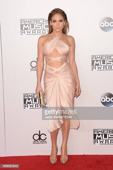 Singer Jennifer Lopez attends the 2014 American Music Awards at Nokia Theatre LA Live on November 23 2014 in Los Angeles California