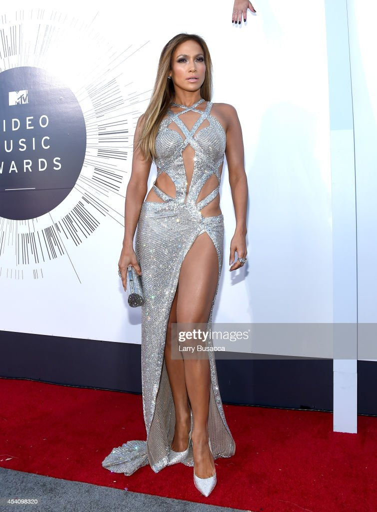 Singer Jennifer Lopez attends the 2014 MTV Video Music Awards at The Forum on August 24 2014 in Inglewood California