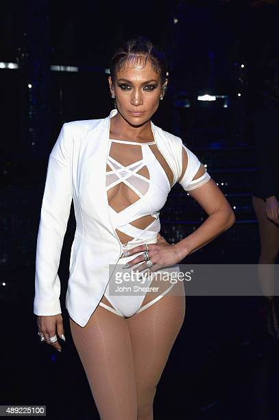 Singer Jennifer Lopez attends the 2015 iHeartRadio Music Festival at MGM Grand Garden Arena on September 19 2015 in Las Vegas Nevada