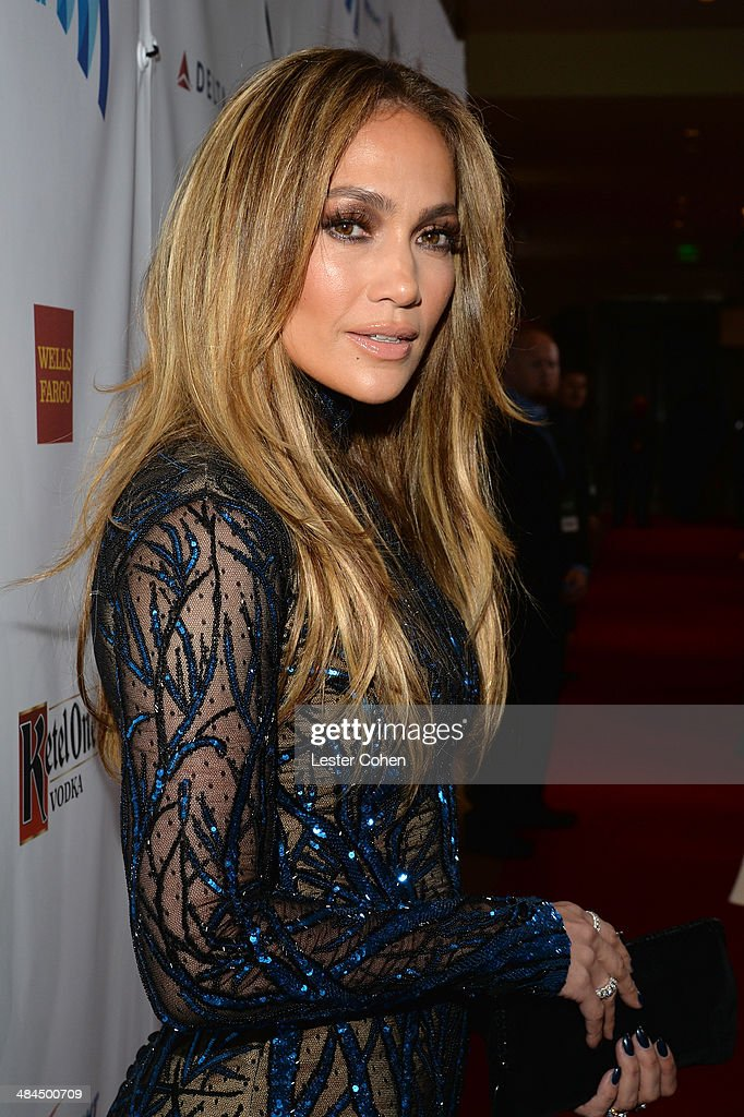 Singer Jennifer Lopez attends the 25th Annual GLAAD Media Awards at The Beverly Hilton Hotel on April 12, 2014 in Los Angeles, California.