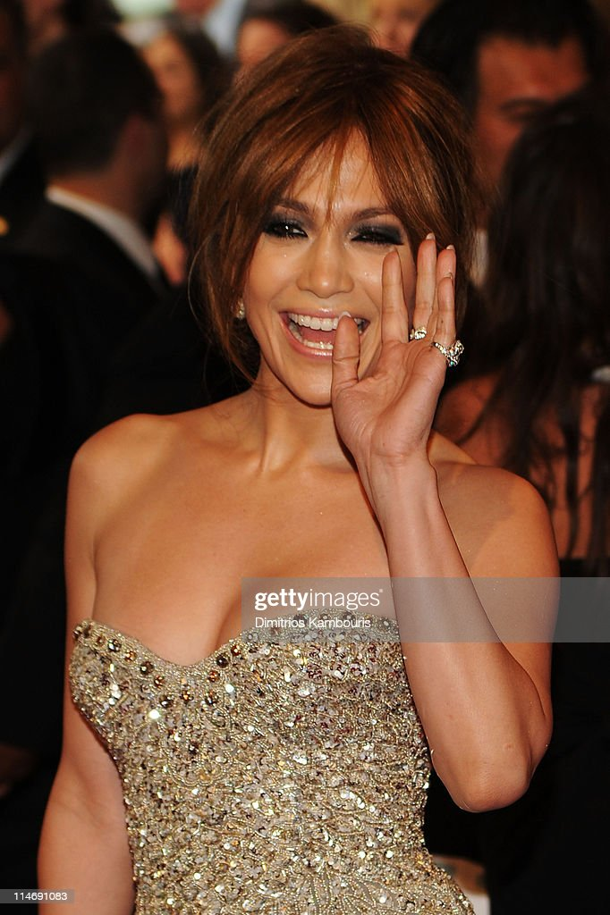 Singer Jennifer Lopez attends the Costume Institute Gala Benefit to celebrate the opening of the 'American Woman: Fashioning a National Identity' exhibition at The Metropolitan Museum of Art on May 3, 2010 in New York City.