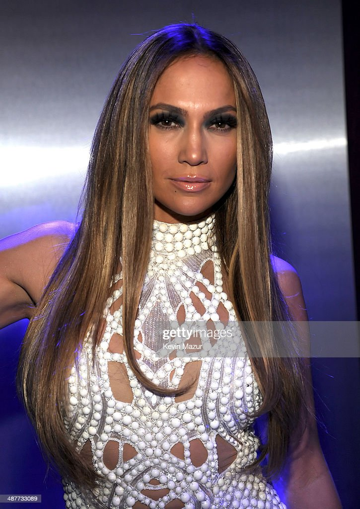 Singer Jennifer Lopez poses backstage at the 2014 iHeartRadio Music Awards held at The Shrine Auditorium on May 1, 2014 in Los Angeles, California. iHeartRadio Music Awards are being broadcast live on NBC.