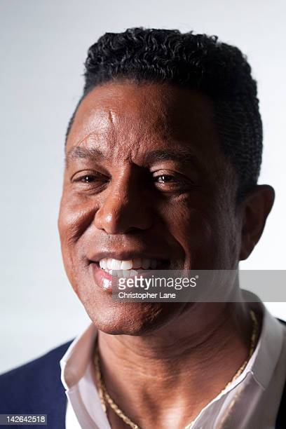 Singer Jermaine Jackson poses for Paris Match on January 12 2012 in New York City