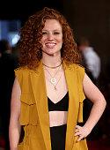 Singer Jess Glynne attends the London Gala premiere of 'Amy' on June 30 2015 in London England