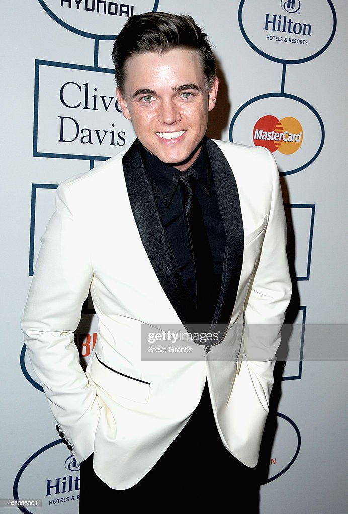 Singer Jesse McCartney attends the 56th annual GRAMMY Awards Pre-GRAMMY Gala and Salute to Industry Icons honoring Lucian Grainge at The Beverly Hilton on January 25, 2014 in Los Angeles, California.