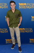 Singer Jesse McCartney attends the MDA Show of Strength held at CBS Television City on August 8 2012 in Los Angeles California The show airs on...
