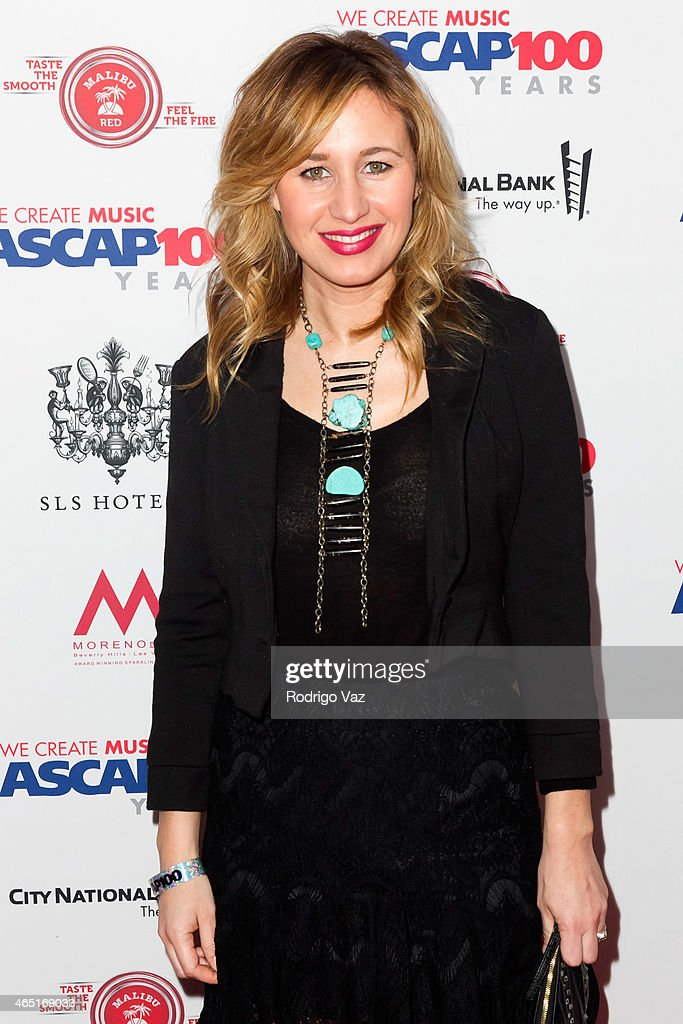 Singer Jessi Alexander attends the ASCAP's 2014 Grammy Nominee Brunch at SLS Hotel on January 25, 2014 in Beverly Hills, California.