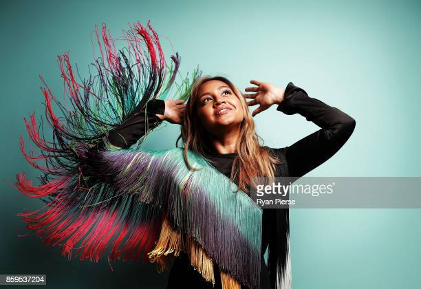 Singer Jessica Mauboy poses at the 31st Annual ARIA Nominations Event at Art Gallery Of NSW on October 10 2017 in Sydney Australia