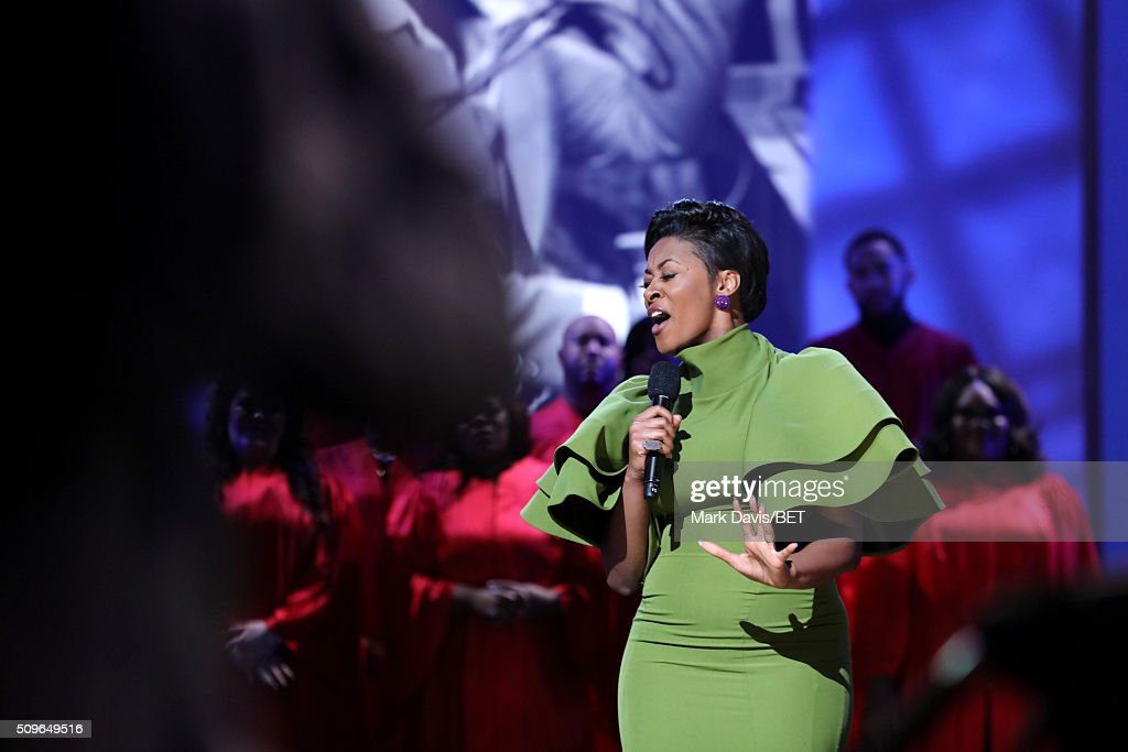 Singer Jessica Reedy performs onstage during BET Celebration Of Gospel 2016 at Orpheum Theatre on January 9 2016 in Los Angeles California