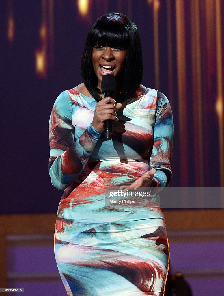 Singer Jessica Reedy performs onstage during the BET Celebration of Gospel 2013 at Orpheum Theatre on March 16, 2013 in Los Angeles, California.