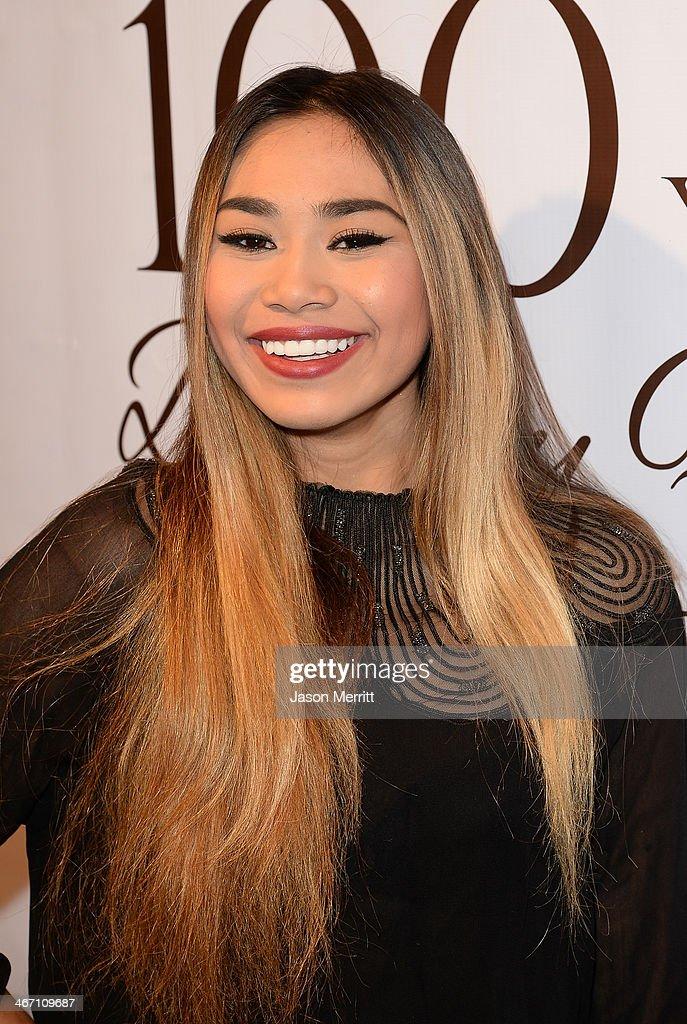 Singer Jessica Sanchez attends the