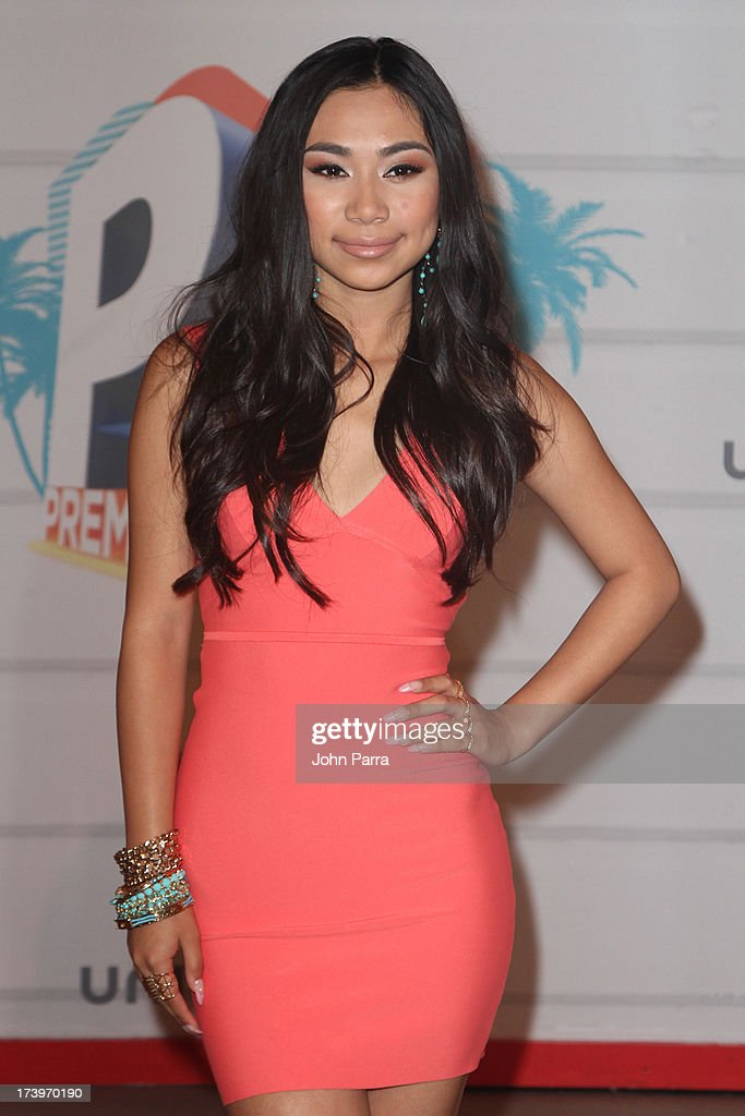 Singer Jessica Sanchez attends the Premios Juventud 2013 at Bank United Center on July 18, 2013 in Miami, Florida.