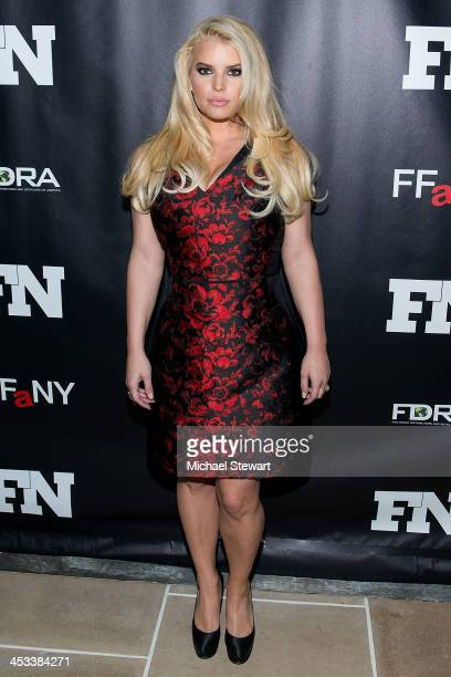 Singer Jessica Simpson attends the 27th Annual Footwear News Achievement Awards at the IAC Building on December 3 2013 in New York City