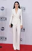 Singer Jessie J arrives at the 2014 American Music Awards at Nokia Theatre LA Live on November 23 2014 in Los Angeles California