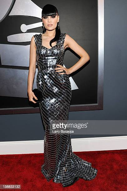 Singer Jessie J arrives at the 54th Annual GRAMMY Awards held at Staples Center on February 12 2012 in Los Angeles California