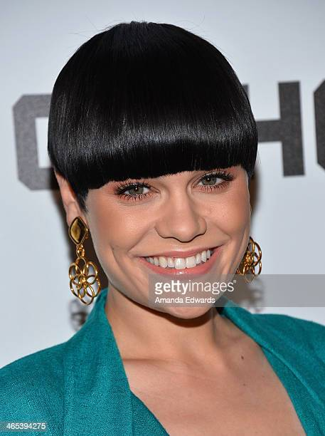 Singer Jessie J arrives at the Republic Records Post GRAMMY Party at 1 OAK on January 26 2014 in West Hollywood California