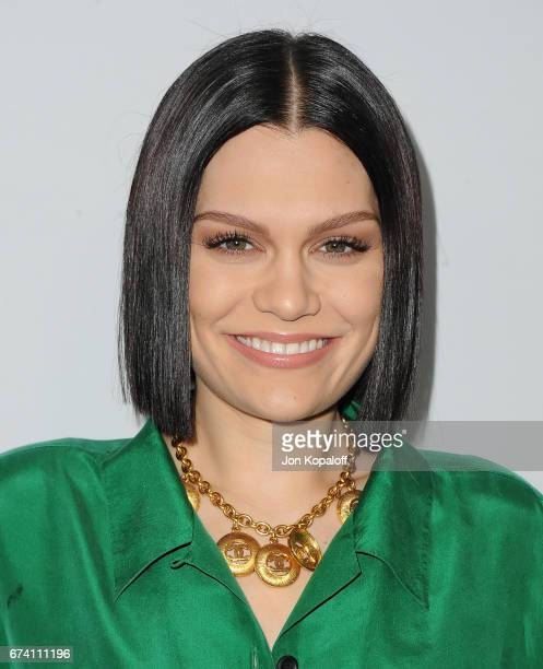 Singer Jessie J arrives at We Day California 2017 at The Forum on April 27 2017 in Inglewood California