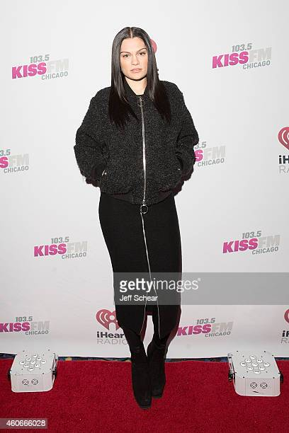Singer Jessie J attends 1035 KISS FM's Jingle Ball 2014 at Allstate Arena on December 18 2014 in Chicago Illinois