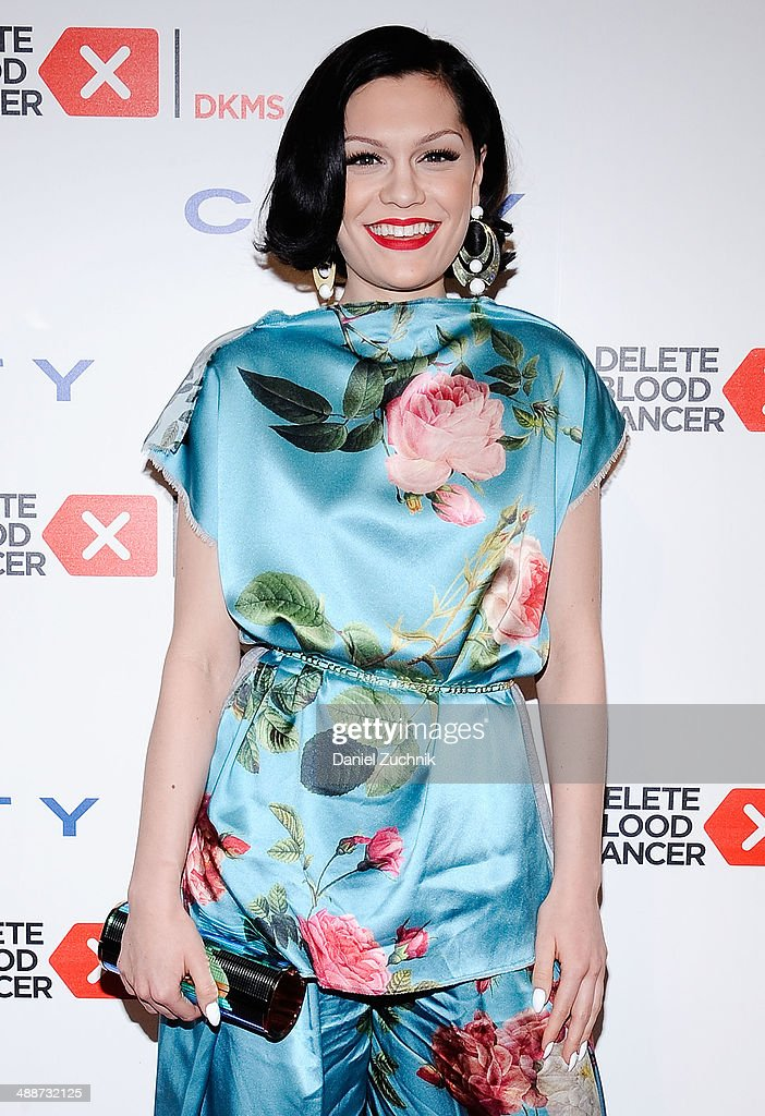 Singer Jessie J attends the 2014 Delete Blood Cancer Gala at Cipriani Wall Street on May 7, 2014 in New York City.