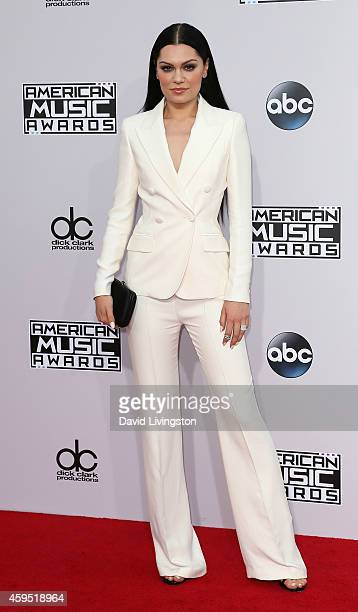 Singer Jessie J attends the 42nd Annual American Music Awards at the Nokia Theatre LA Live on November 23 2014 in Los Angeles California