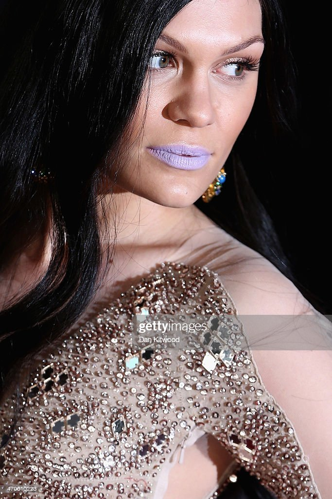 Singer <a gi-track='captionPersonalityLinkClicked' href=/galleries/search?phrase=Jessie+J&family=editorial&specificpeople=5737661 ng-click='$event.stopPropagation()'>Jessie J</a> attends The BRIT Awards 2014 at 02 Arena on February 19, 2014 in London, England.
