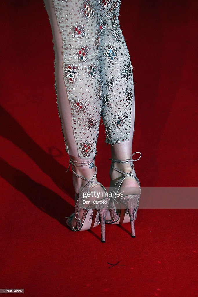 Singer Jessie J attends The BRIT Awards 2014 at 02 Arena on February 19, 2014 in London, England.