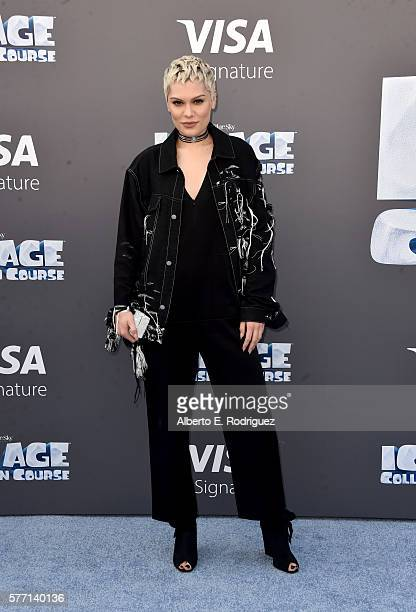 Singer Jessie J attends the screening of 'Ice Age Collision Course' at Zanuck Theater at 20th Century Fox Lot on July 16 2016 in Los Angeles...