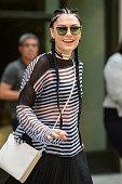 Singer Jessie J leaves her Soho hotel on September 3 2015 in New York City
