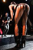 Singer Jessie J performs at El Rey Theatre on October 14 2014 in Los Angeles California