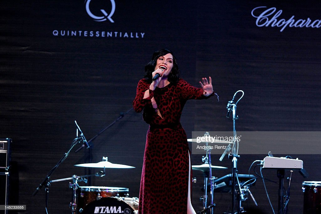 Singer Jessie J performs during the 2012 amfAR's Cinema Against AIDS during the 65th Annual Cannes Film Festival at Hotel Du Cap on May 24, 2012 in Cap D'Antibes, France.