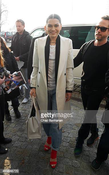 Singer Jessie J sighted at Sat1 television studios on November 27 2014 in Berlin Germany