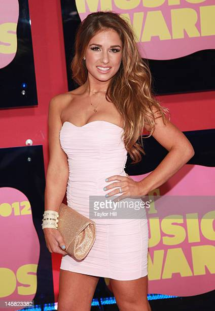 Singer Jessie James attends the 2012 CMT Music awards at the Bridgestone Arena on June 6 2012 in Nashville Tennessee