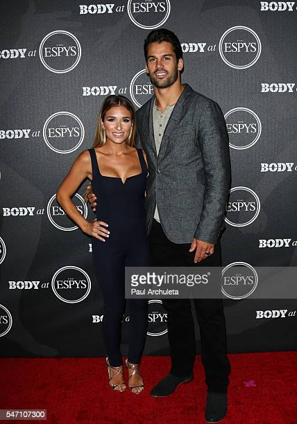 Singer Jessie James Decker and NFL Player Eric Decker attend the ESPN Magazine BODY issue party at Avalon Hollywood on July 12 2016 in Los Angeles...