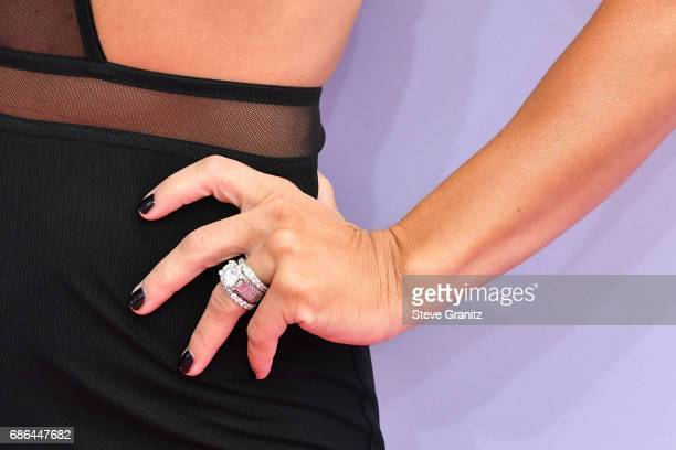 Singer Jessie James Decker fashion detail attends the 2017 Billboard Music Awards at TMobile Arena on May 21 2017 in Las Vegas Nevada